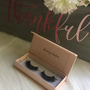 Other - 100% Mink Eyelashes 3D lashes Strip Eyelashes